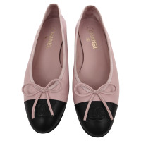 Chanel Ballerinas with Black Lace