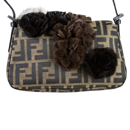 Fendi Handbag with fur elements