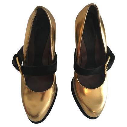Marni Pumps in Gold