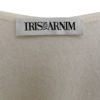 Iris von Arnim Twin set in cream white