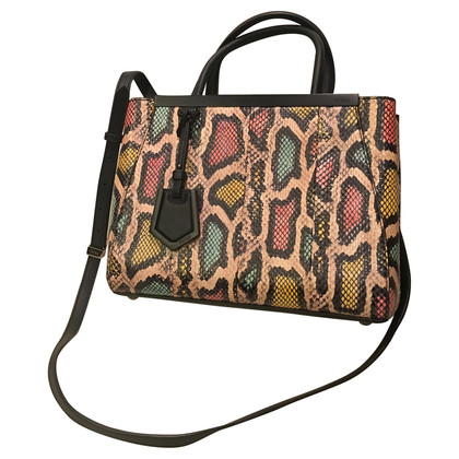 Fendi Small '2jours' watersnake tote