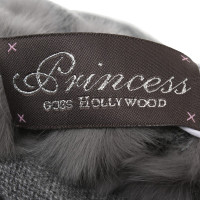 Princess goes Hollywood Kaschmir-Kleid in Grau