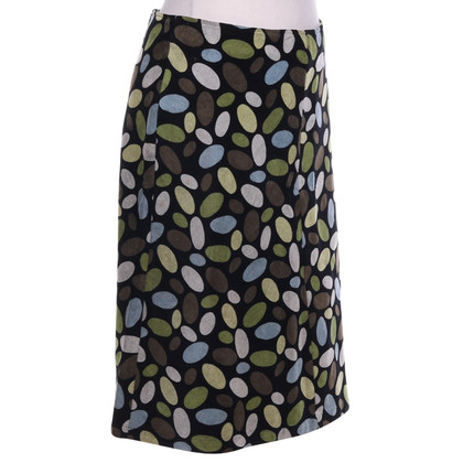 Hobbs skirt with dots pattern