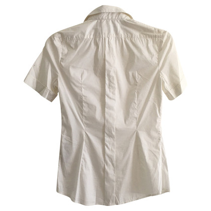 D&G Witte stretch shirt