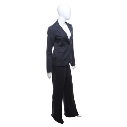 Theory Trouser suit in blue / grey