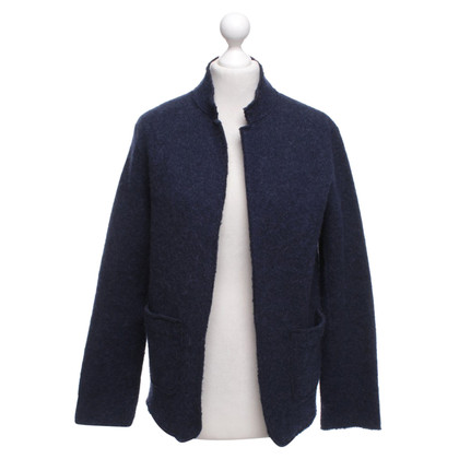 Majestic Knit Blazer in Blauw