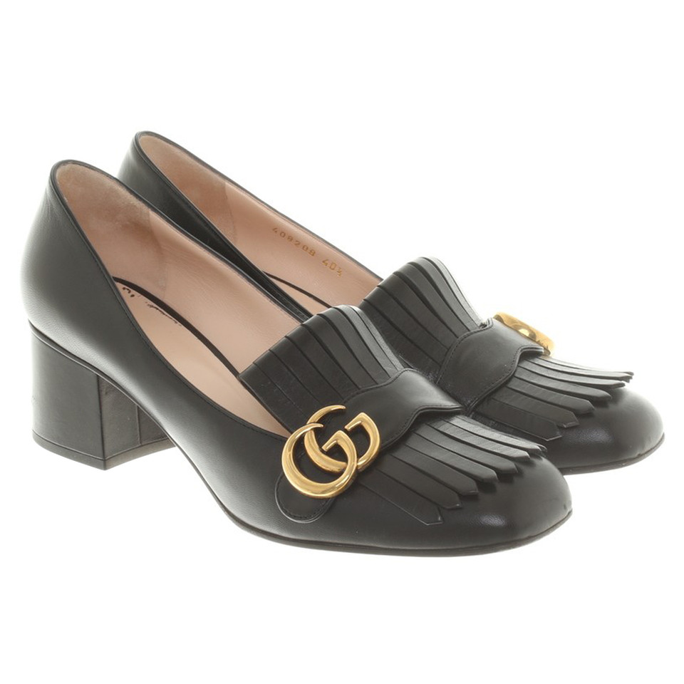 gucci pumps mit fransen second hand gucci pumps mit fransen gebraucht kaufen f r 250 00. Black Bedroom Furniture Sets. Home Design Ideas