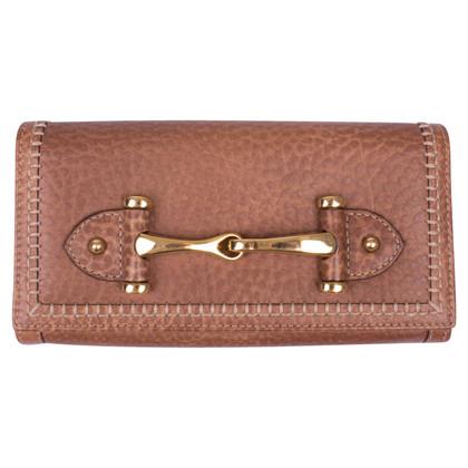 Gucci Portemonnaie mit Horsebit-Detail
