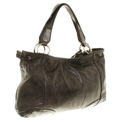 Car Shoe Handbag in antracite