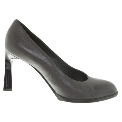 Jil Sander Pumps in Dunkelgrau