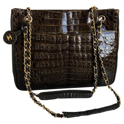 Chanel Handtasche aus Alligatorenleder