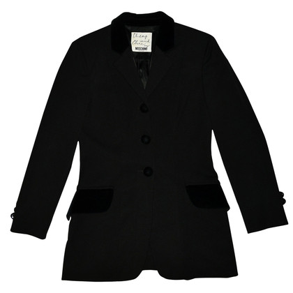 Moschino Cheap and Chic Schwarzer Blazer