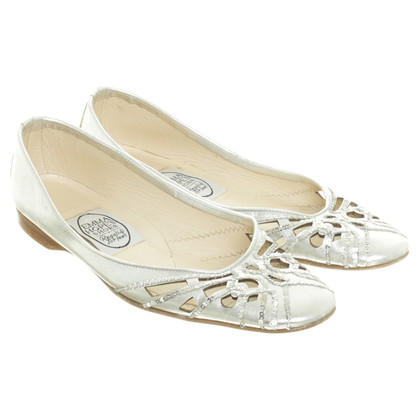 Emma Hope´s Shoes Silver ballerinas