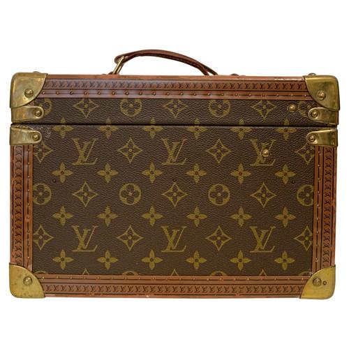 81ff657a0 Louis Vuitton Travel bag Canvas - Second Hand Louis Vuitton Travel ...