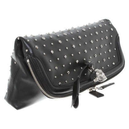 Alexander McQueen clutch made of leather