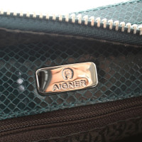 Aigner Handbag with reptile imprint