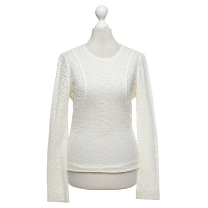 Chloé Cream top made of lace