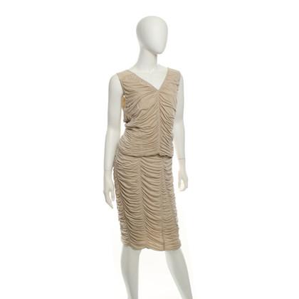 Donna Karan ruches jurk