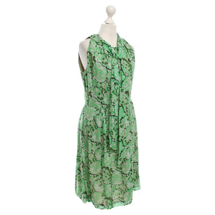 Anna Sui Sled dress with floral pattern
