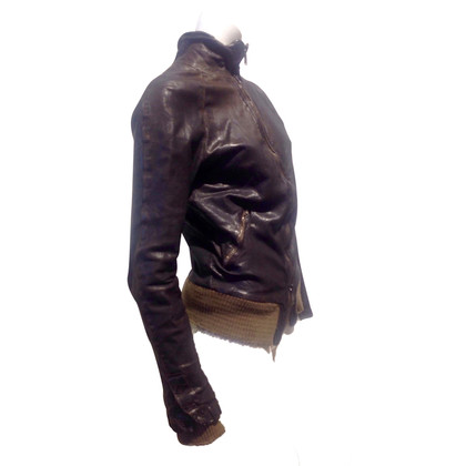 Giorgio Brato Leather Blazer