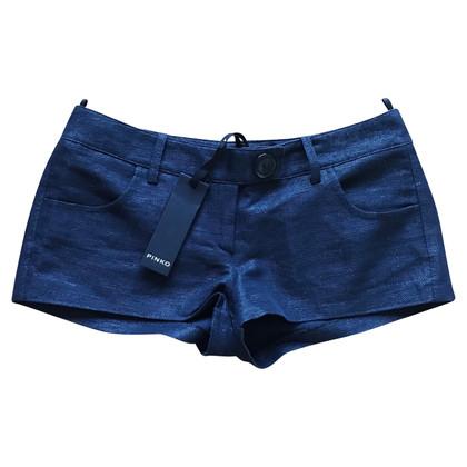 Pinko Korte broek in blauw