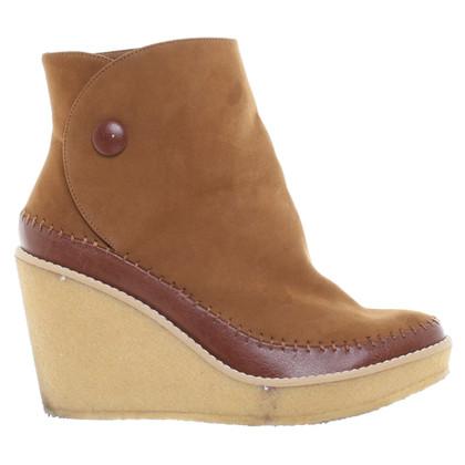 Stella McCartney Wedges in Brown