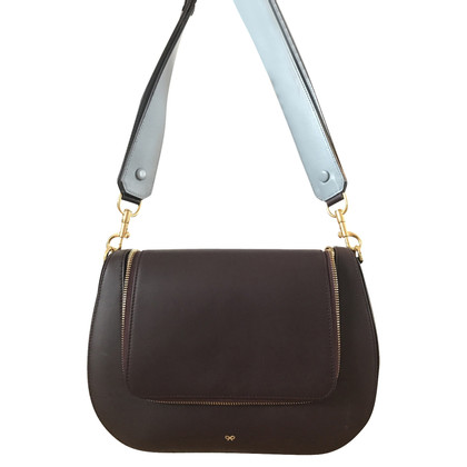 Anya Hindmarch Vere Satchel bordeaux