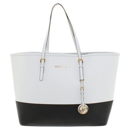 Michael Kors Shoppers in zwart / White
