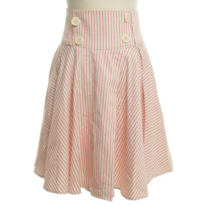 Adolfo Dominguez skirt with striped pattern