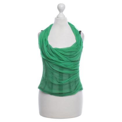 Dolce & Gabbana Corpetto in verde