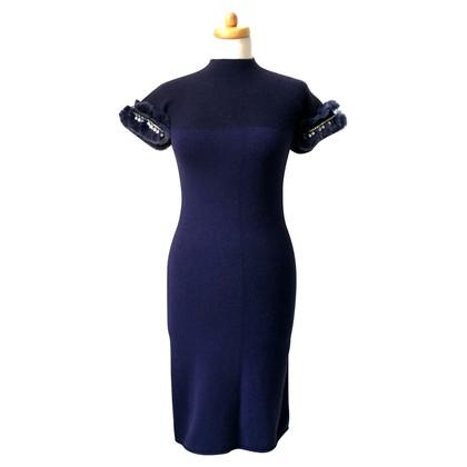 Just Cavalli Donker blauwe jurk