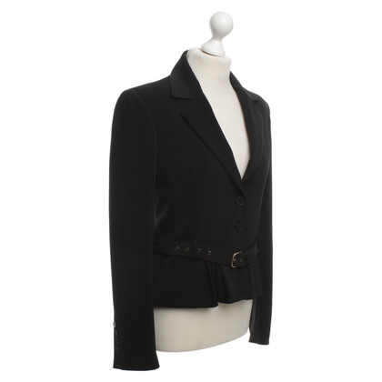 John Galliano Blazer in zwart