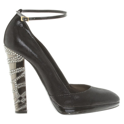 Roberto Cavalli Pumps in Schwarz
