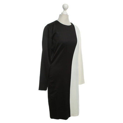 Céline Dress in black and white