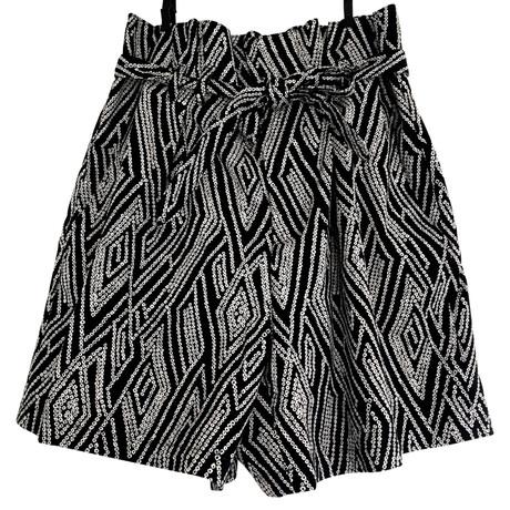 Drykorn Shorts Schwarz / Weiß