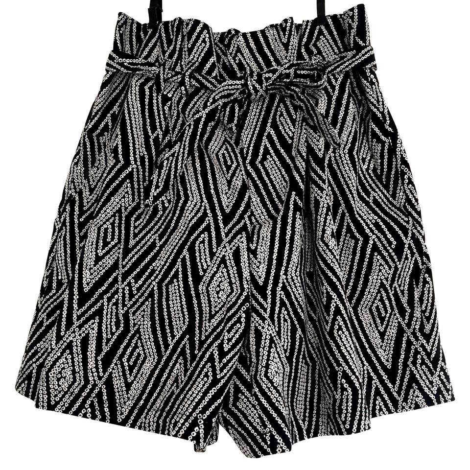 Drykorn Drykorn SILK korte broek, witte zwart