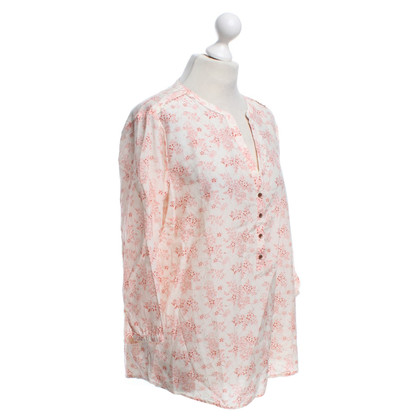 Maison Scotch top with floral pattern