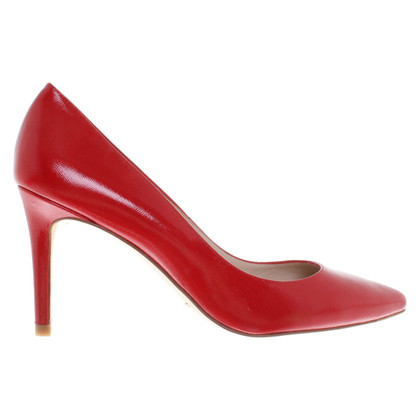 L.K. Bennett pumps in red