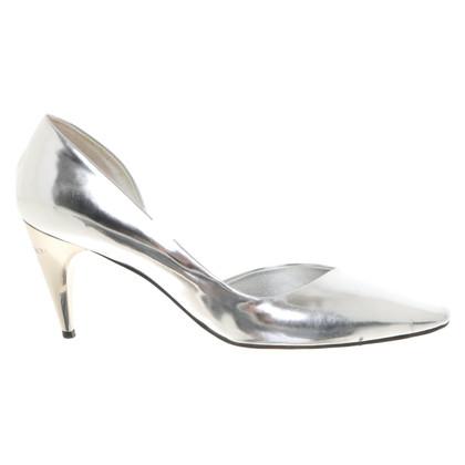 Louis Vuitton Colore argento pumps