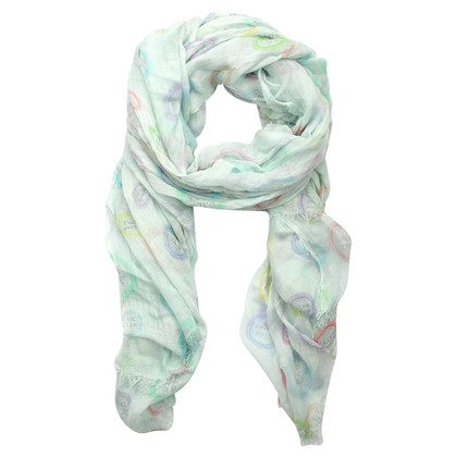 Faliero Sarti Sjaal turquoise