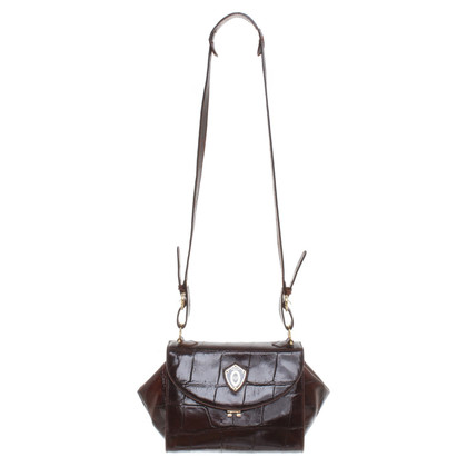 Pollini Leather handbag in Brown