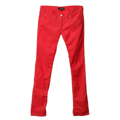 Isabel Marant Fine corduroy pants in red