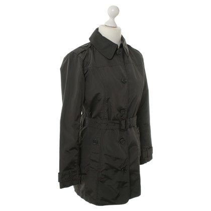 Woolrich Trench coat in nylon grigio