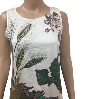 Moschino Cheap and Chic Mouwloze jurk met print