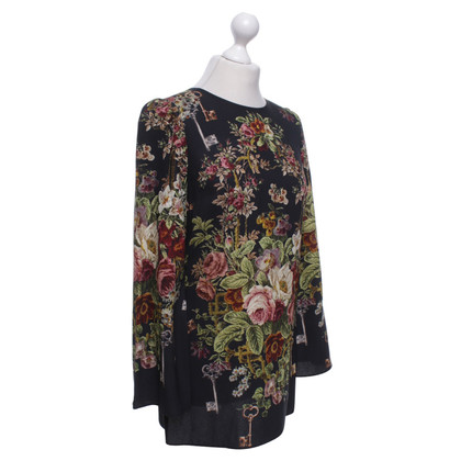 Dolce & Gabbana top with a floral pattern