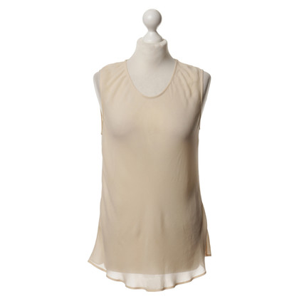Jil Sander Top in seta a nudo