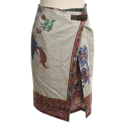 Etro skirt with print