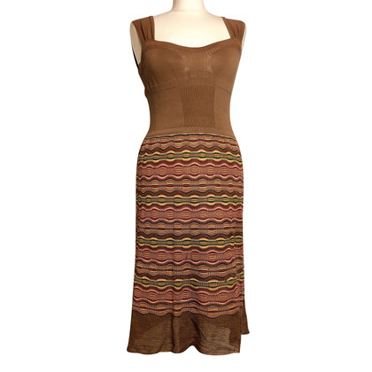 Missoni Carrier Knitdress in earth tones