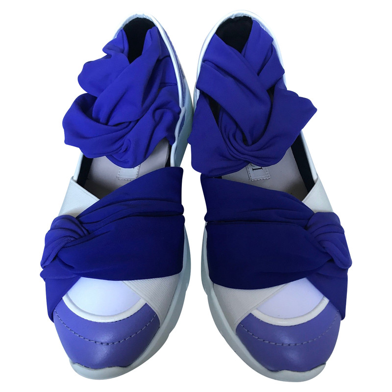 Emilio Pucci Trainers Leather in Violet