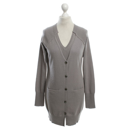 FTC Cashmere cardigan in grey